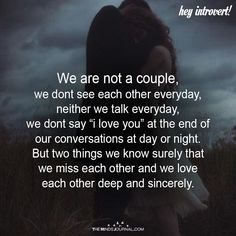 We Are Not A Couple - https://themindsjournal.com/we-are-not-a-couple/