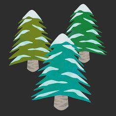 Tree Clip Art Fabric Houses, Watercolor Texture, Winter Theme, Clip Art, Illustration, Outdoor Decor, Instagram Posts, Home Decor, Decoration Home