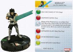 Korvus #022 Wolverine and the X-Men Marvel Heroclix