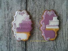 Beautiful wedding cake cookies                                                                                                                                                      More