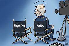 Regie in eigen hand houden - De Karikaturist