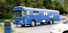 How To: Convert a Ridiculous Bus... article about a family's journey converting a bus into a home.