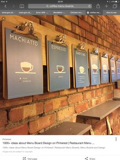 Coffee menu board ideas for restaurant shop boards get quotations a magnetic blackboard bulletin display can Coffee Shop Menu, Coffee Barista, Coffee Shop Design, Coffee Cafe, Starbucks Coffee, Coffee Icon, Coffee Pods, Iced Coffee, Pub Decor