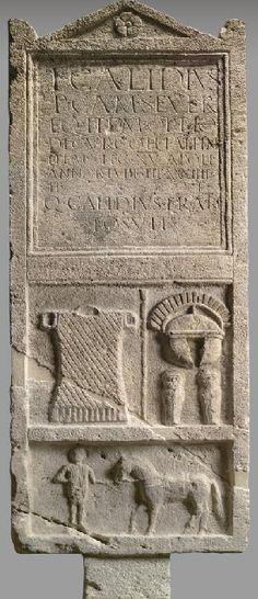 Tombstone of Titus Calidius Severus 0-100 A.D.
