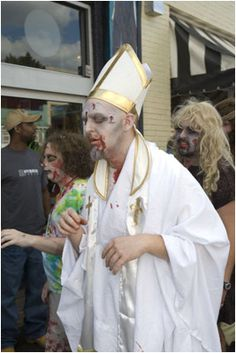 The next Pope: The Walking Pope