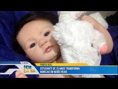 """Jovem de 15 anos cria bonecas que parecem """"bebês reais"""" - YouTube"""