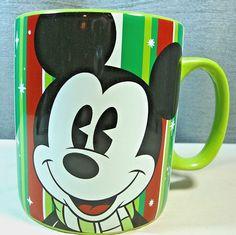 Large Disney Mickey Mouse Coffee Tea Mug Cup 28 oz  #Disney