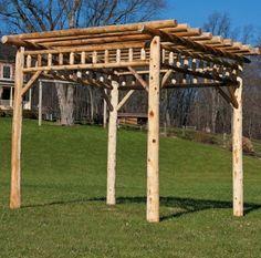 Create the perfect outdoor living space with a patio pergola or backyard pergola. Our pergola kits and DIY pergolas are easy to assemble. Pergola Carport, Building A Pergola, Pergola Plans, Pergola Ideas, Pergola Swing, Diy Pergola, Wood Pergola, White Pergola, Backyard Gazebo