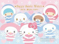 Happy Sanrio Winter