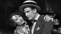 Pierre Fresnay (French actor) and Orane Demazis in Marius directed by Alexander Korda, 1931