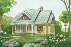 18 Small House Plans: Boulder Summit, Plan #1575