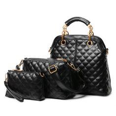 Moda PU Cuero y Chequeado bolsa de asas de las mujeres del diseño para Vender - La Tienda En Online IGOGO.ES