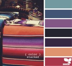 color stacked #color #scheme