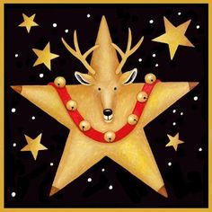 2016/04/08 Reindeer Star - Stephanie Stouffer