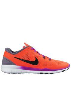 Nike Free 5.0 TR Fit 5 – Hyper Orange / Black / Cool Grey / Vivid Purple