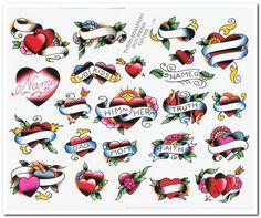 Bleeding Heart Tattoo Designs : Heart And Banner Tattoo Designs . - Bleeding Heart Tattoo Designs : Heart And Banner Tattoo Designs … - Heart Tattoos With Names, Mom Heart Tattoo, Mom Dad Tattoos, Two Hearts Tattoo, Hand Tattoos, Design Tattoo, Heart Tattoo Designs, Tattoo Designs For Girls, Traditional Tattoo Banner