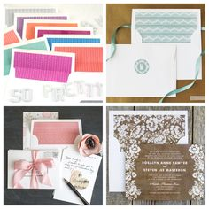 Free Printable Envelope Liner Round-up