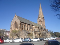 Grahamstown, South Africa - Lived here up to the age of seven Anglican Cathedral, Church Architecture, Old Churches, Church Building, My Land, Nelson Mandela, Beautiful Buildings, Kirchen, Home And Away