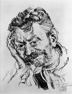 Ludwig Meidner Ludwig Meidner, Jewish School, The Royal School, Jewish Museum, Amedeo Modigliani, Jewish Art, Art School, Printmaking, Selfies