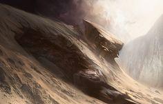 Mountain | Art by Noah Bradley | MAGIC: THE GATHERING