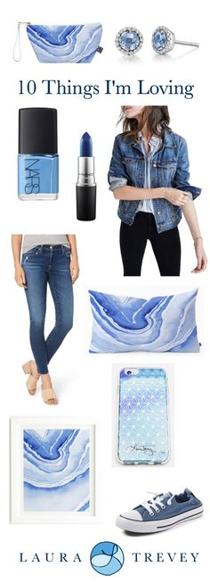 Deep blue hues for the upcoming Fall season - from Wardrobe to Home Decor, shop these newest on trend arrivals.