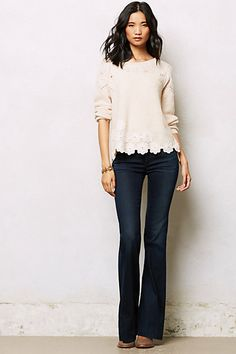 Citizens of Humanity Hutton Wide-Leg Jeans #anthropologie