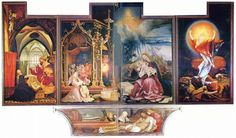 Grunewald, Isenheim Altarpiece (open and closed), Cinquecento, NORTHERN - Google Search