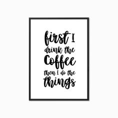Typography Prints, Signs, Coffee, Diy, Kaffee, Bricolage, Shop Signs, Sign, Cup Of Coffee