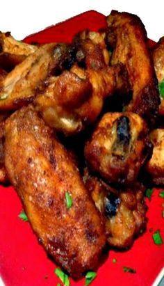 Spanish-Style Garlic Chicken Wings