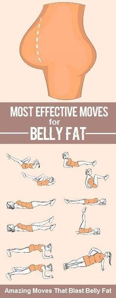 Most effective exercises to reduce Belly Fat!  More fitness tips at dystinctlifestyle.com