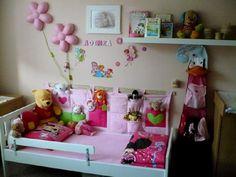 """Kapsář za postel """" Kapsičky sem, kapsičky tam """" Další super kapsářek z mé dílničky. 2 m x 50 cm Bed Room, Toddler Bed, Sewing, Baby, Kids, Crafts, Furniture, Home Decor, Baby Room Girls"""