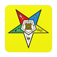 OES Order of the Eastern Star Coasters