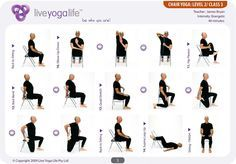low impact seated exercises for seniors - Google Search