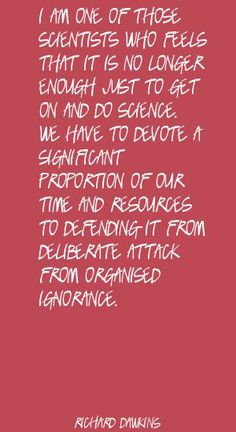 Red Quote Picture I am one of those scientists who feels that it is  Quote By Richard Dawkins