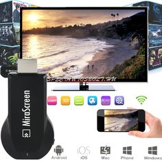 Cheap ota tv stick, Buy Quality hdmi dongle directly from China tv stick Suppliers: OTA TV Stick Android Smart TV HDMI Dongle EasyCast Wireless Receiver DLNA Airplay Miracast Airmirroring Chromecast MiraScreen Smart Tv, Receptor, Home Internet, 4g Wireless, Bluetooth, Photo Viewer, Tv Videos, Hd 1080p, Samsung Galaxy S6