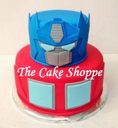 Optimus Prime Transformers cake