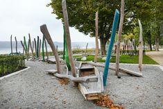 Lakeside Park and Promenade Überlingen « Landscape Architecture Platform | Landezine Lakeside Park, Kids Playing, Playground, Children Play, Children Playground, Boys Playing, Outdoor Playground, Toddler Activities