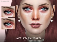 Realistic eyebags in 10 colors. Found in TSR Category 'Sims 4 Female Skin Details' The Sims, Sims 4, Best Eye Serum, Eyeliner For Beginners, New Skin, Hairline, How To Look Better, Eyebags, Eye Colors