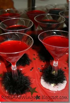 fruit punch for Hollywood movie party