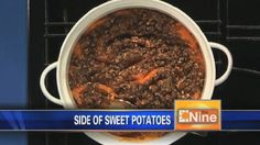 Try Deena Centofanti's delicious sweet potatoes recipe