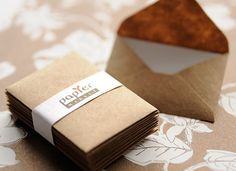 Mini kraft paper envelope, there small and cute! For party's and more!!!