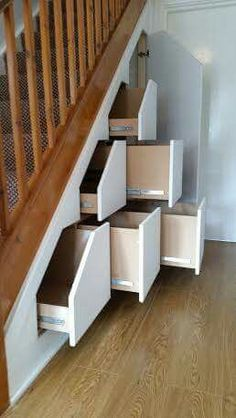 Storage Solutions, Stairs, Shelves, Home Decor, Ladders, Shelving, Homemade Home Decor, Shed Storage Solutions, Stairway