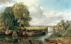 View on the Stour near Dedham 1822' by  John Constable: Brain scans reveal the power of art