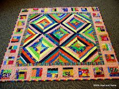 Free Quilt, Craft and Sewing Patterns: Links and Tutorials *With Heart and Hands*: String Quilting: Free Links and Tutorials Quilt Patterns Free, Craft Patterns, Sewing Patterns, Patch Quilt, Quilt Blocks, String Quilts, Book Quilt, Easy Quilts, Quilting Projects