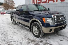 2010 Ford F-150 Lariat | SUNROOF | LEATHER | Truck Crew Cab Call Now  1 (888) 313-4515  Northland Nissan Prince George
