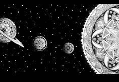 provocative-planet-pics-please.tumblr.com SISTEMA HÍBRIDO II #arte #art #illustration #system #hybrid #design #sun #planets #mandala #saturn #space #blackandwhite #universe #artwork #linework #dotwork #stars by jim_sind https://www.instagram.com/p/_nxSX1tK6V/