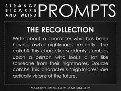 Strange Bizarre & Weird Prompts