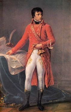 "So Napoleon grew up learning how to run a military and in 1796, was made commander of the French army in Italy, where he forced Austria and its allies to be friends. Then he hung out in Egypt for a while, but the British were all ""little man don't you touch our Indian trade routes"" so that didn't work out too well.    Eventually he made it back to Paris where he became emperor and did cool things like oversee the centralization of government, create the Bank of France and make a civil code…"