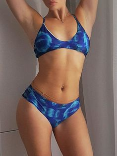 SHARE & Get it FREE | Hollow Print Halter Bikini SetFor Fashion Lovers only:80,000+ Items • New Arrivals Daily Join Zaful: Get YOUR $50 NOW!