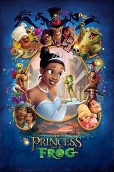 The princess and the frog - Down in New Orleans during the fabulous Jazz Age, young Princess Tiana searches for true love and comes face-to-face with snooty debutante Charlotte, ancient voodoo priestess Mama Odie and the evil Dr. Facilier. But with the help of her mother, a crooning alligator and other friends, Tiana's fairy-tale dreams may come true after all .